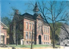 The Buffalo County Training School began classes in 1902 in this building which now houses the Alma Area Museum.